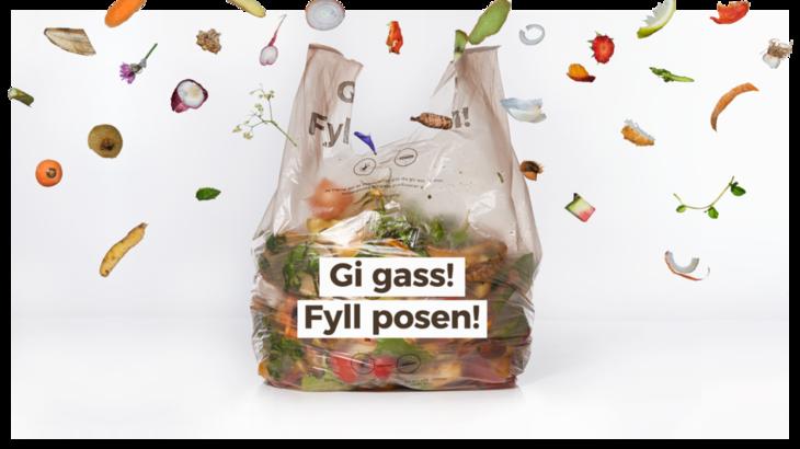 Bilde av matavfallsposen