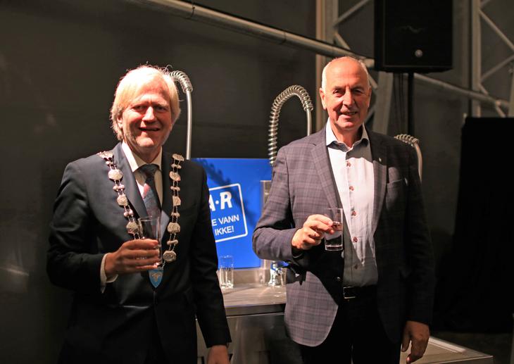 Frode Fjeldstø og Stanley Wirak
