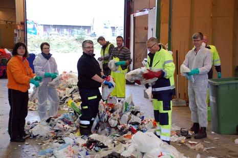 sortering af plast